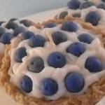 Handmade Blueberry Cream Pi..