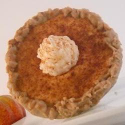 Handmade Spiced Pumpkin Pie, Soy Wax Candle